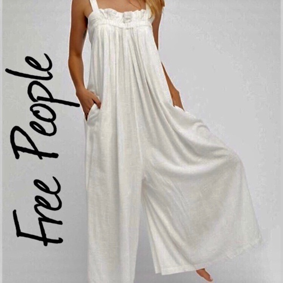 11588c6f0da Free People On The Yacht Jumpsuit NWT M NWT